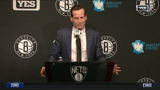 Kenny Atkinson breaks down Brooklyn's loss to Toronto