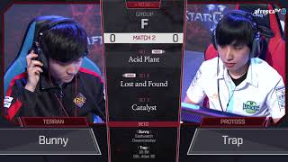 [2018 GSL Season 3] Code S Ro.32 Group F Match2 Bunny vs Trap
