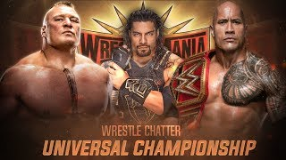The Rock FINALLY Returns For Universal Championship ! The Rock Vs Brock Lesnar Wrestlemania 35 !