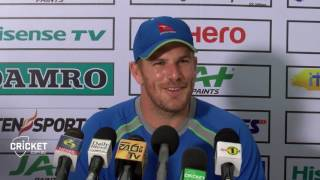 Finch disappointed with 'poor' Colombo wicket