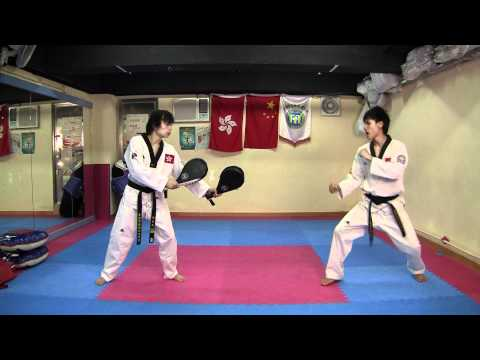 TKD Combo Kicks, Turning Kicks, Single Kicks (Long Edition)