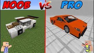 MINECRAFT: NOOB VS PRO - Mobil Sultan VS Mobil Noob