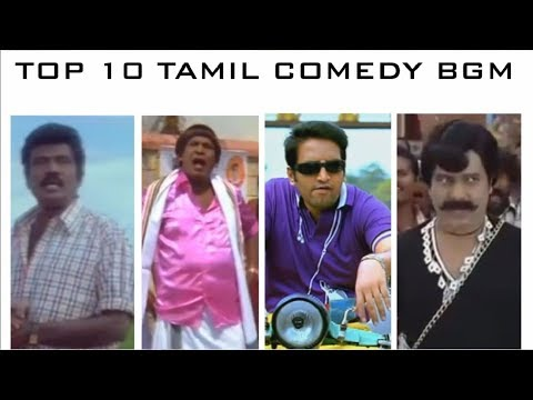 TOP 10 Tamil Comedy BGM