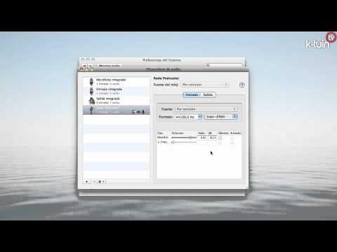 Como Configurar de forma Avanzada de Audio en Mac