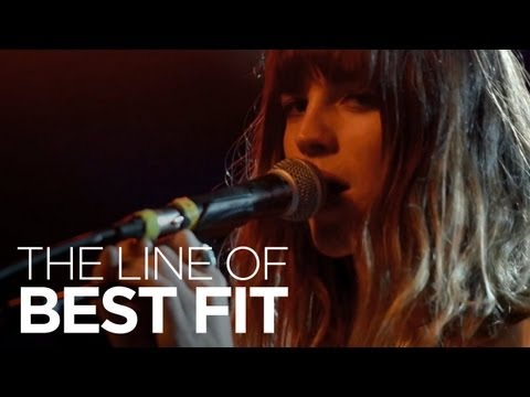 Thumbnail of video Melody's Echo Chamber perform Crystallized for The Line of Best Fit