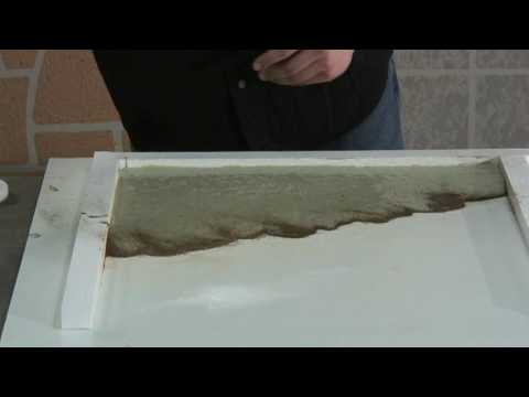 Surecrete Xtreme Countertop : Concrete Countertop Veining - Xtreme Veining by SureCrete - YouTube