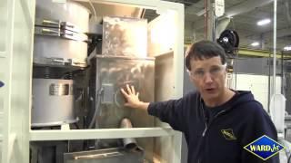 WARD Pro Waterjet Abrasive Recycling System