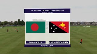 ICC T20WC Qualifier: BAN v PNG - Match highlights