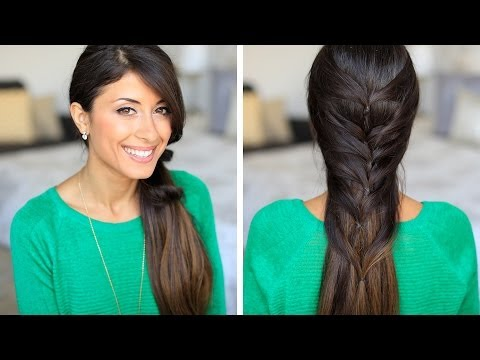 Faux Fishtail Hair Tutorial