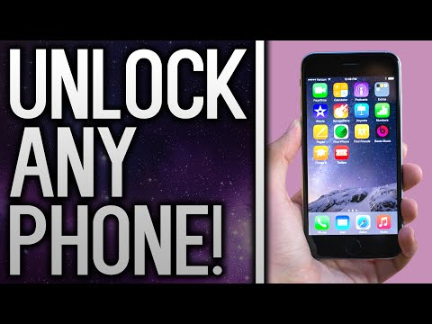 How To Unlock ANY iPhone / Android Phone To Use With Any Network / Carrier!