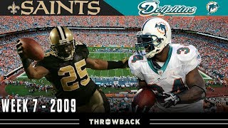EPIC Scoring Marathon in Miami! (Saints vs. Dolphins, 2009)