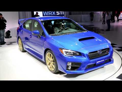 2015 Subaru WRX STI Video Preview. Live From The Detroit Auto Show