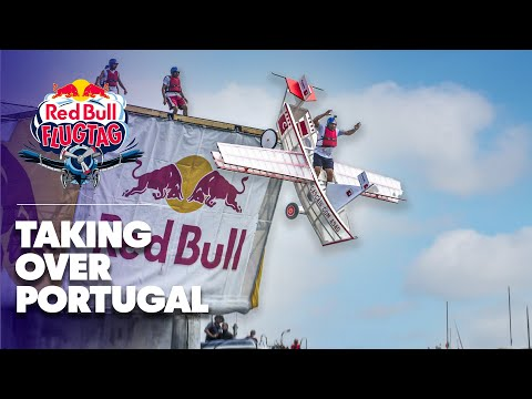 Man-Made Flying Machines in Portugal - Red Bull Flugtag