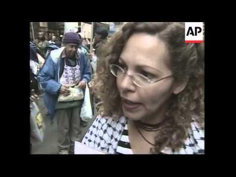Anti war/pro-Palestinian demonstration