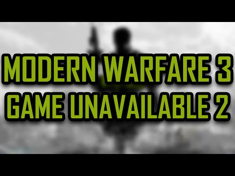 Modern Warfare 3 - Steam This game is currently unavailable. Please try again at another time FIX 2