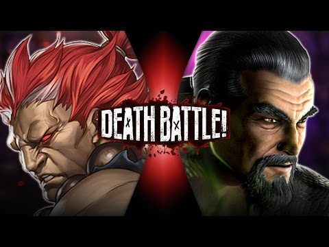 DEATH BATTLE! - Akuma VS Shang Tsung