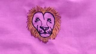 Aari work: decorating kids clothing with cartoon design
