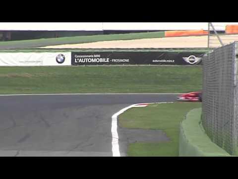 Eddie Cheever Test Ferrari 2012