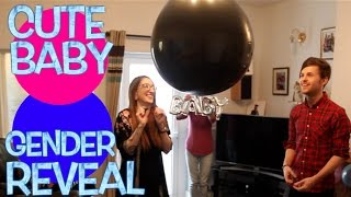 CUTE BABY GENDER REVEAL! ARE WE HAVING A BOY OR GIRL?!