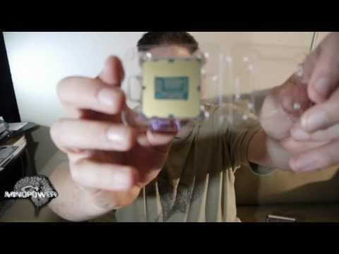 Unboxing of Intel i7 3770 LGA1155 3.4GHz Quad Core CPU - MindPower009