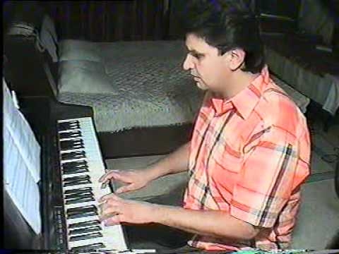 Sochenge Tumhe Pyar on piano ( Rajeev Kumars Music Academy In...