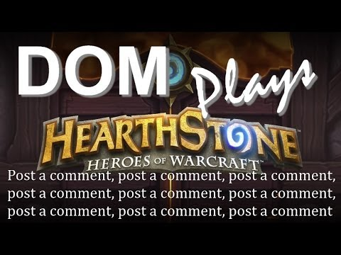 Dom Plays Post A Comment-stone - Ep 19