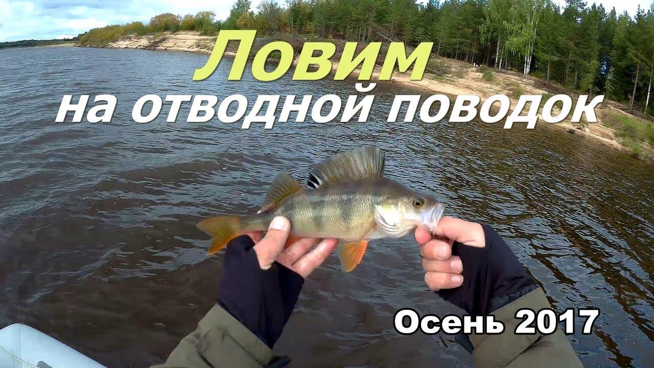рыбалка на реке с отводным поводком