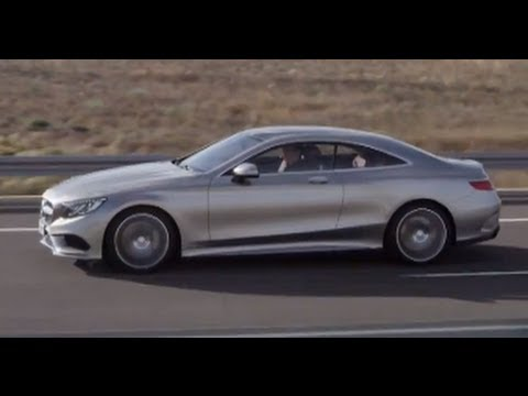 Mercedes S Class Coupe 4MATIC Engine Sound DRIVING Price $100k S500 2014 Video CARJAM TV