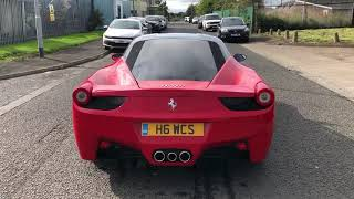 Sports salvage 458 walk around
