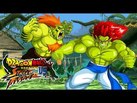 Blanka meets Bojak - Comic and MUGEN fight!!! - Dragon Ball vs Street Fighter III by Dbzsupakid