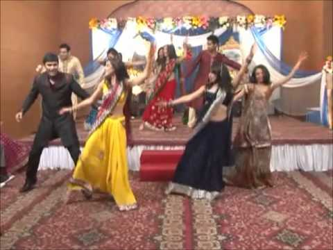 Shveta hari wedding sangeet group dance - Gal mithi mithi