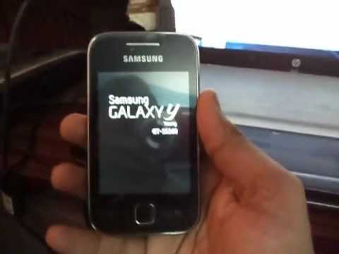 Repair a bricked Galaxy Y (S5360)    Install original samsung android on Galaxy
