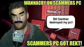 Infecting Scammers Computer With Wannacry!!!!