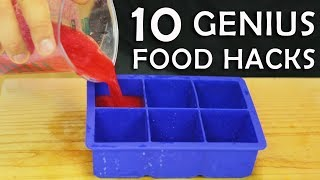 10 Genius Food Hacks
