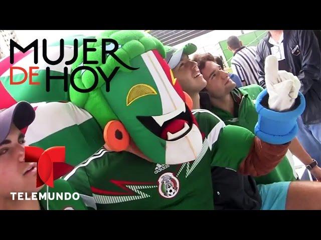 iVillage Mujer / Colores del Mundial: Fanáticos de México en Brasil