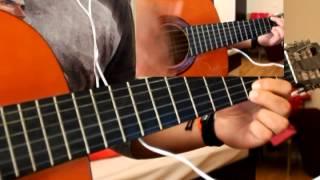 Enrique Iglesias - Bailando Intro Guitar Cover