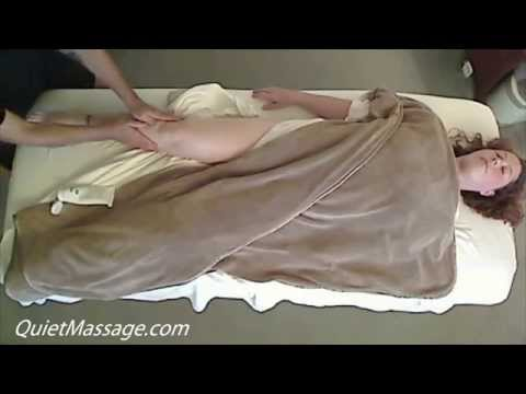 Deep Swedish Massage with Female Model