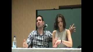 Bak-Anime April 22, 2012 Laura Bailey and Travis Willingham Panel
