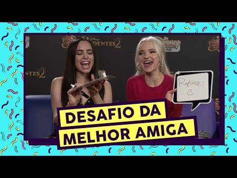 Best Friend Challenge ft. Dove Cameron e Sofia Carson