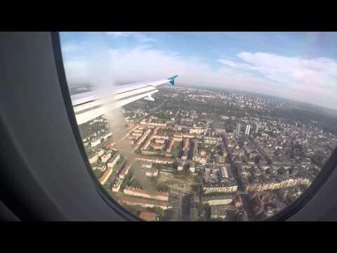 Lądowanie W Poznaniu, Landing At Poznan Ławica, Small Planet Airlines. Go Pro Hero 4