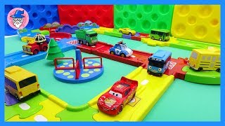 ROBOCAR POLI & SUPER WINGS gogo fight for our friends. transfomer robot clip
