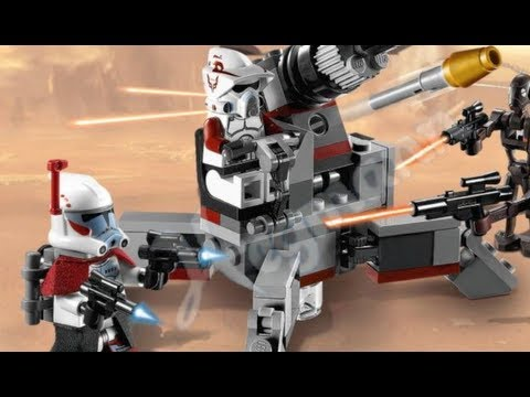 New 2012 LEGO Star Wars Winter Set & Minifigure Pictures
