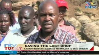 Kajiado residents embrace technology to ease drought