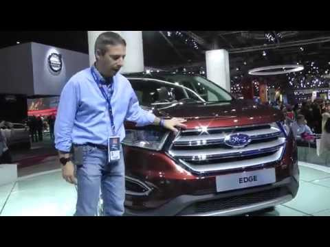 Ford Edge | stand al salone di Parigi 2014. HDmotori.it