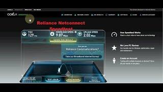 Reliance Netconnect(Pro3) SpeedTest-Impressive!!!