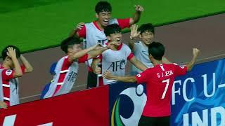 Korea Republic 1-1 Australia (AFC U19 Indonesia 2018 : Group Stage)