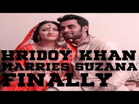 Breaking: Hridoy Khan Suzana Zafar Got Married 1 August 2014!!! video
