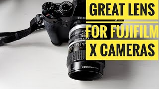 Great Nikon AIS Lens for Fujifilm X Mirrorless Cameras