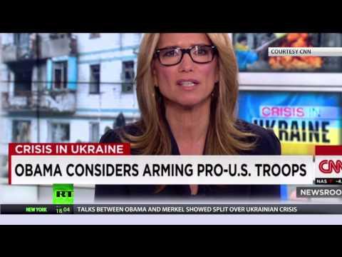CNN slammed for declaring Ukraine forces 'Pro-US'