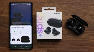 01. Samsung Galaxy Buds+ UNBOXING, Setup and REVIEW